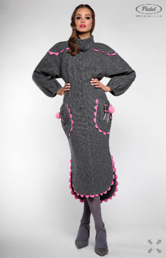 Верхняя одежда женская Pintel™ Пальто Mazaä - фото 3