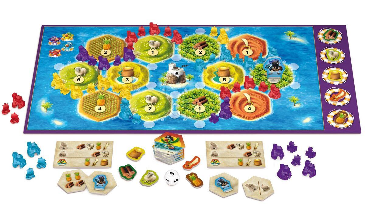 Подарок на Новый год Hobby World Игра настольная «Колонизаторы Junior» - фото 3