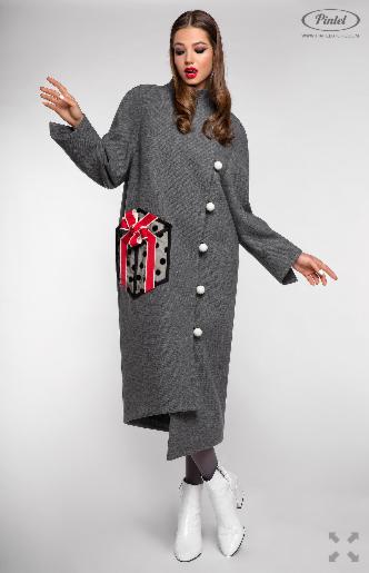 Верхняя одежда женская Pintel™ Пальто Sakshi - фото 3