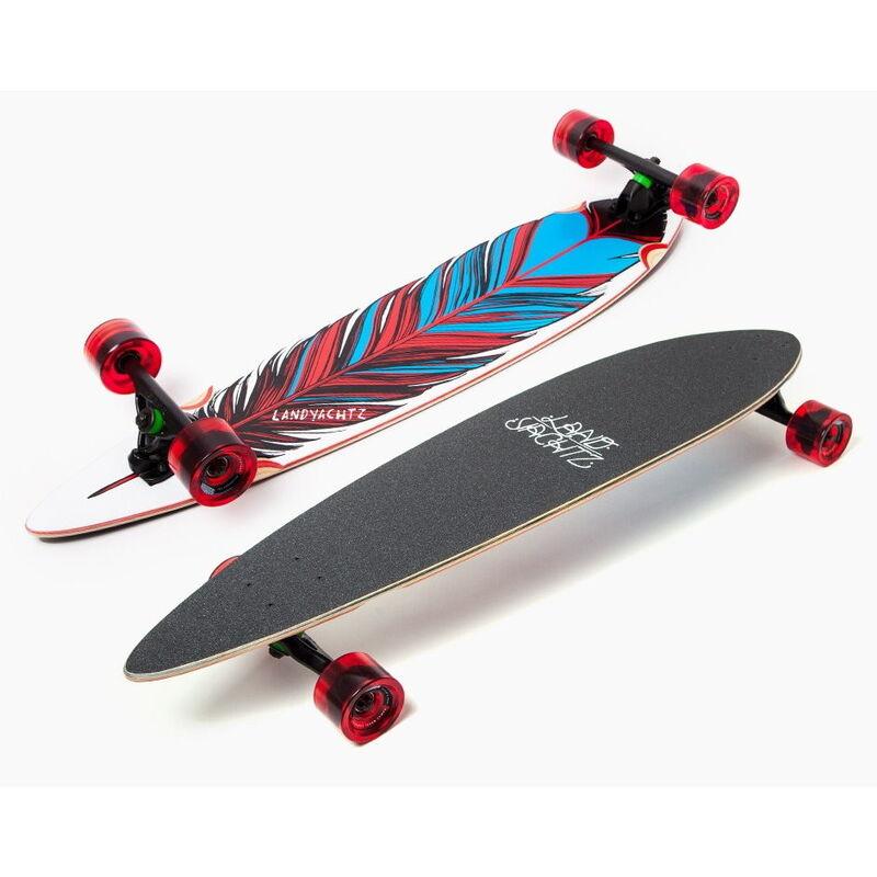 Скейтборд Landyachtz Лонгборд Maple Chief Feather - фото 1