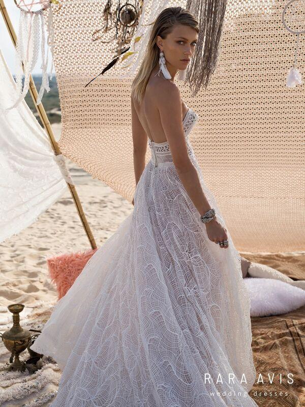 Свадебное платье напрокат Rara Avis Свадебное платье Wild Soul Klays - фото 4