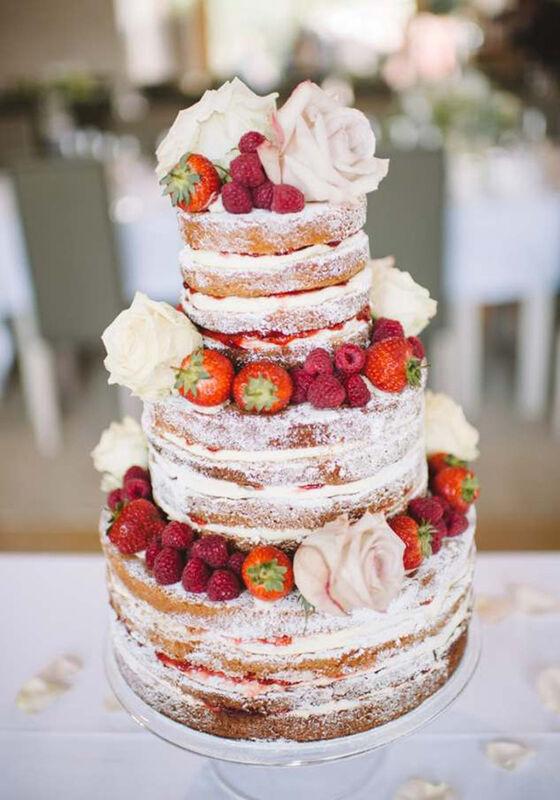 Торт DOLCE Свадебный торт «Свадьба в Малиновке» - фото 1