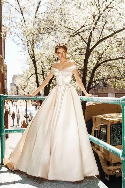 Свадебное платье напрокат Eva Lendel Vogue - фото 1