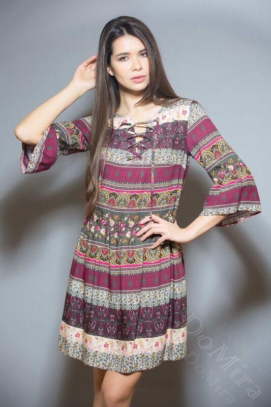 Платье женское DoMira Платье М-01-440 - фото 2