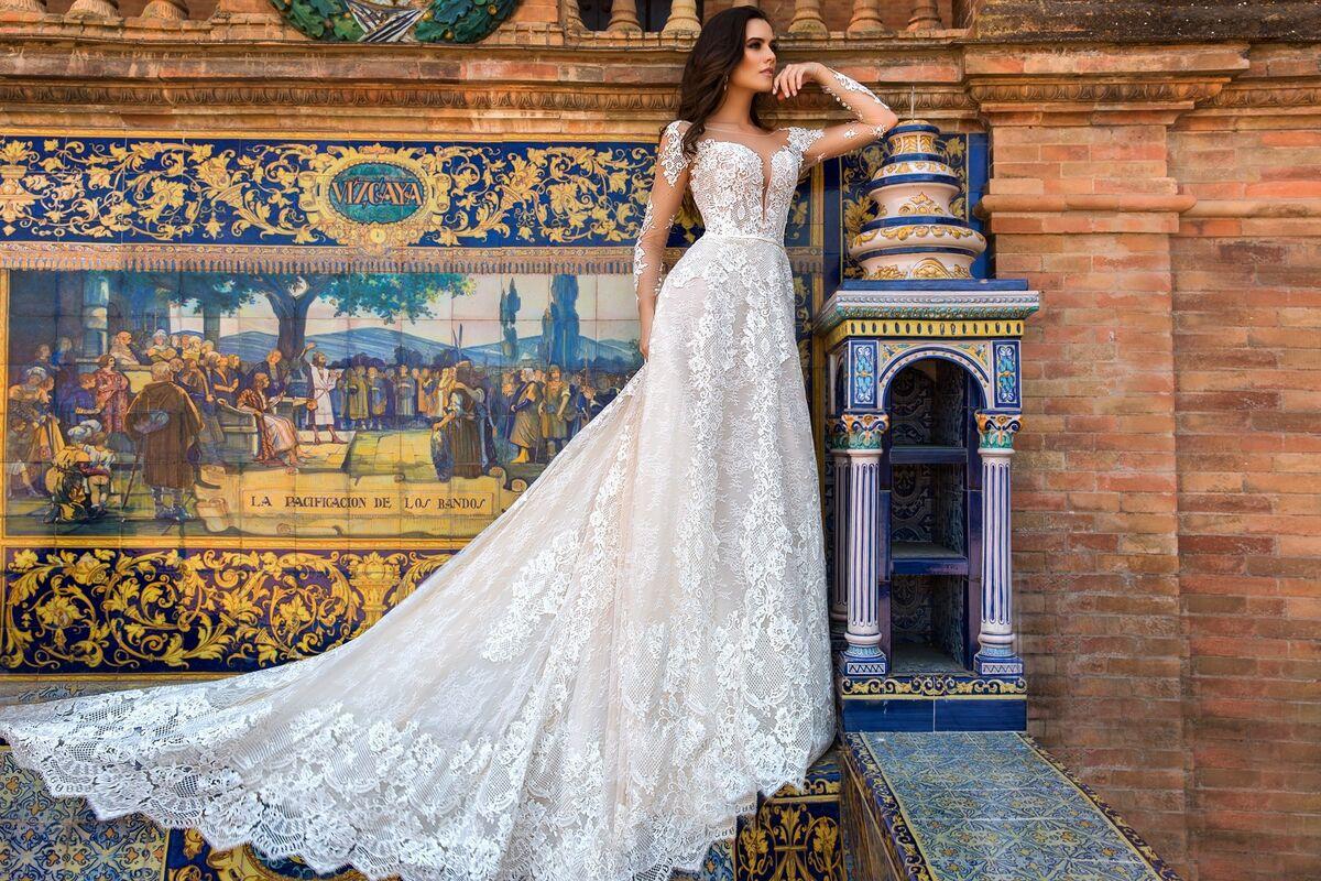 Свадебное платье напрокат Crystal Свадебное платье Marlen - фото 1