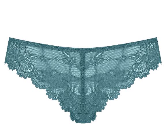 Женское нижнее белье Triumph Трусы бразилиан-стринг Blue Coral Tempting Lace - фото 1