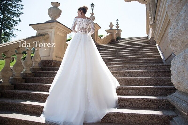 Свадебный салон Ida Torez Платье свадебное Ophelia - фото 4