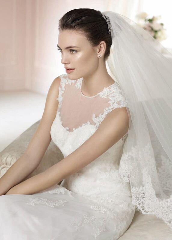 Свадебное платье напрокат White One (Pronovias) Платье свадебное «Daimi» - фото 3