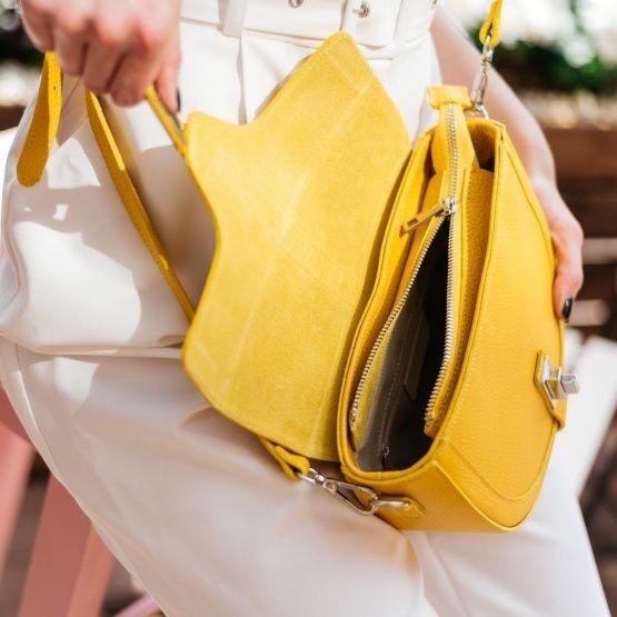 Магазин сумок Vezze Кожаная женская сумка C00496 - фото 3