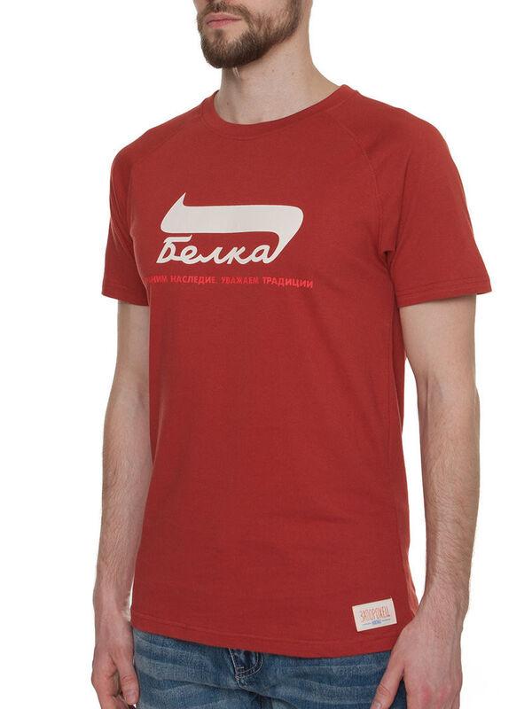 Кофта, рубашка, футболка мужская Запорожец Футболка «Belka» SKU0105000 - фото 2