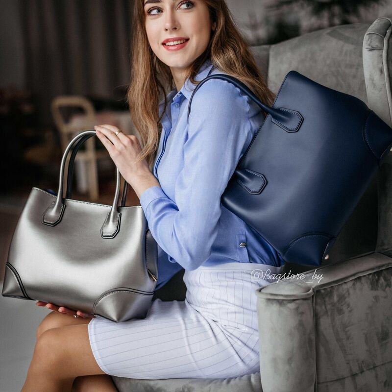Магазин сумок Vezze Кожаная женская сумка C00410 - фото 1