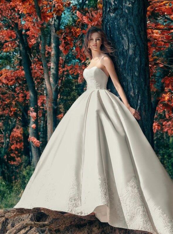 Свадебный салон Papilio Свадебное платье «Дронго» 1747Lb - фото 1