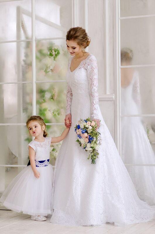 Свадебное платье напрокат ALIZA Свадебное платье «Mishel» Diva Vivien - фото 3