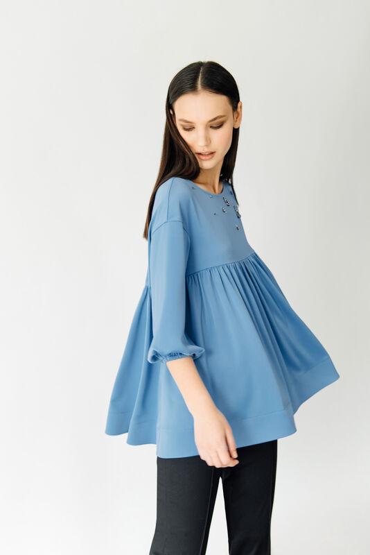 Кофта, блузка, футболка женская Burvin Блузка женская 5940 - фото 1