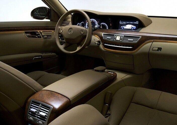Прокат авто Mercedes-Benz W221 S-class белого цвета - фото 8