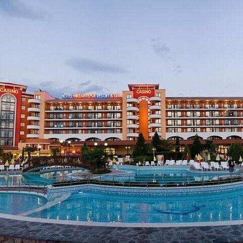 Туристическое агентство Голд Фокс Трэвел Пляжный aвиатур в Болгарию, Солнечный берег, Hrizantema Hotel & Casino 4* - фото 1