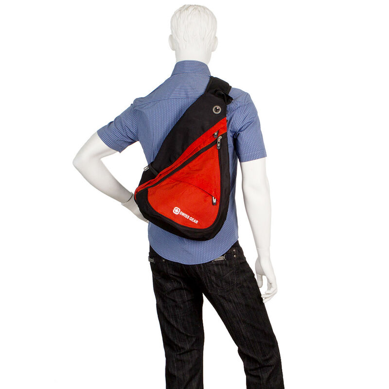 Магазин сумок SwissGear Рюкзак мужской черный 205-983110 - фото 4