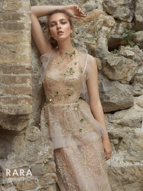 Свадебное платье напрокат Rara Avis Платье свадебное Floral Paradise Los - фото 1