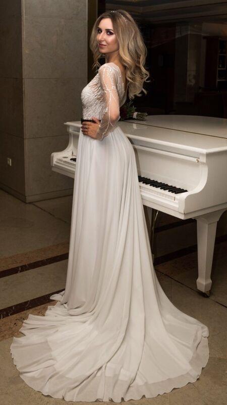 Свадебный салон Vanilla room Свадебное платье Клэр - фото 2