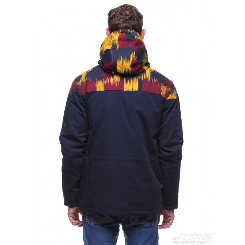 Спортивная одежда Free Flight Мужская куртка Bluff на меху Navy - фото 2