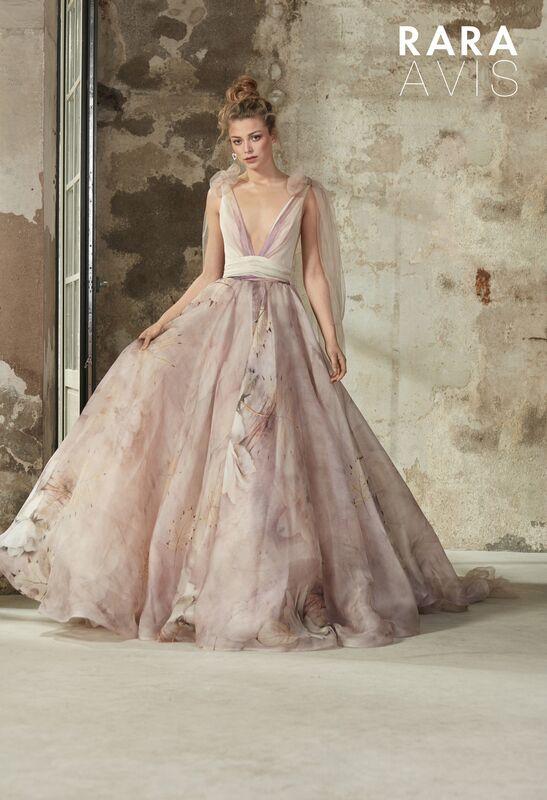 Свадебное платье напрокат Rara Avis Платье свадебное Floral Paradise Elba - фото 1