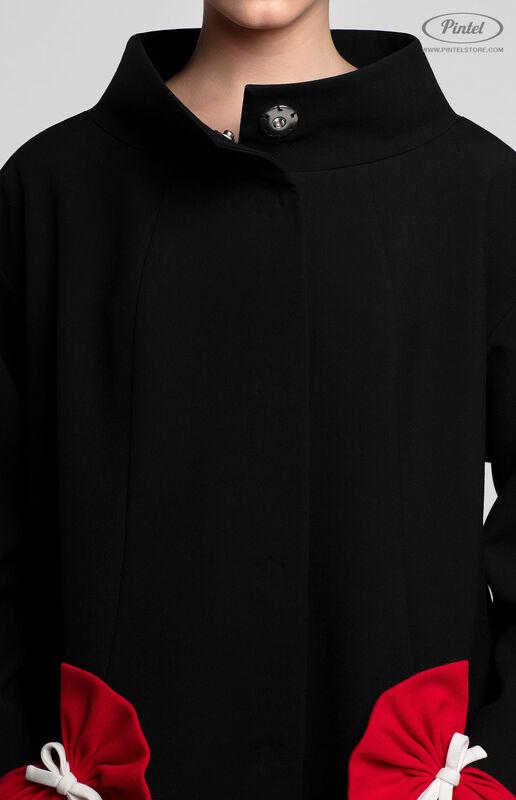Верхняя одежда женская Pintel™ Пальто свободного силуэта Davine - фото 4