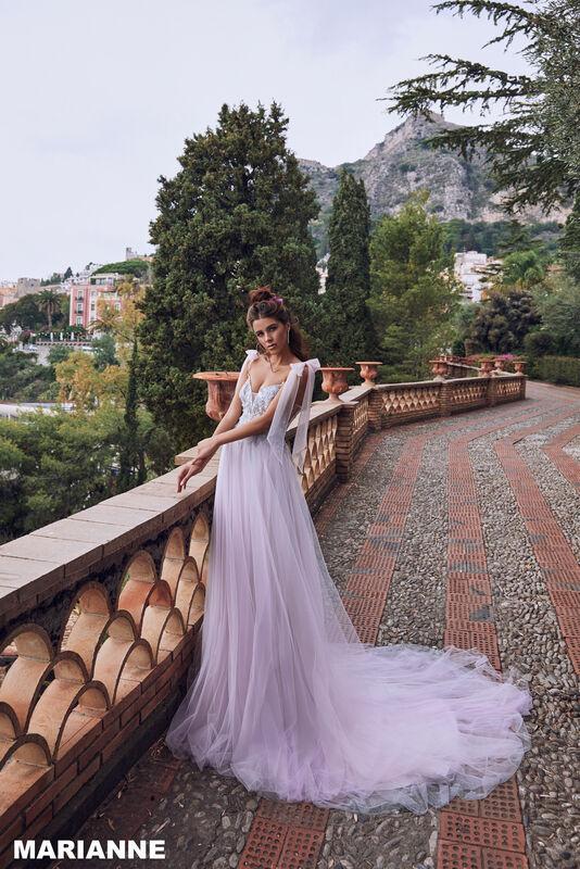 Свадебный салон Bonjour Galerie Свадебное платье MARIANNE из коллекции BELLA SICILIA - фото 2