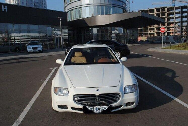 Прокат авто Maserati Quattroporte - фото 2