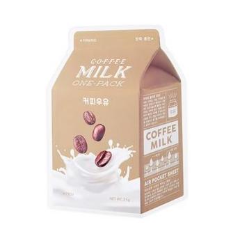 Уход за лицом A'Pieu Milk Маска тканевая Кофе - фото 1