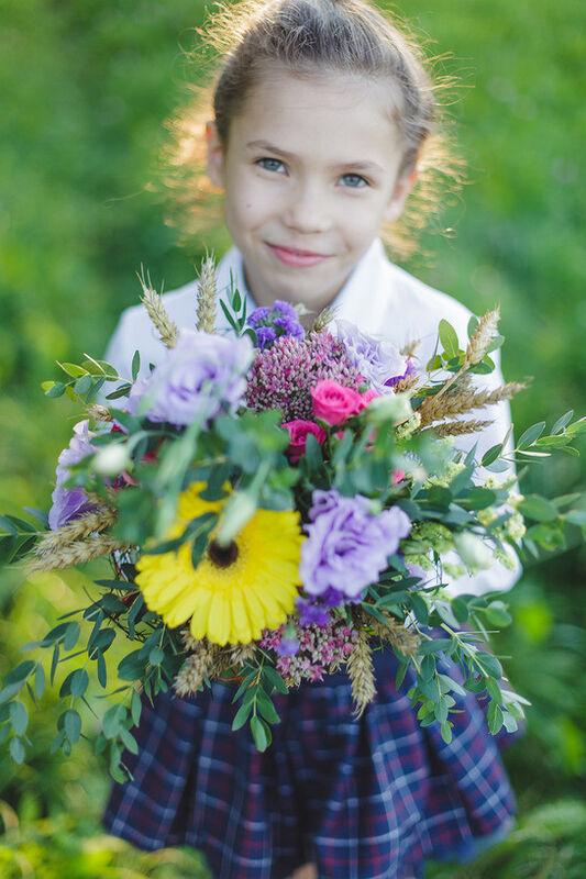 "Магазин цветов Долина цветов Букет  ""Цветы осени"" - фото 2"