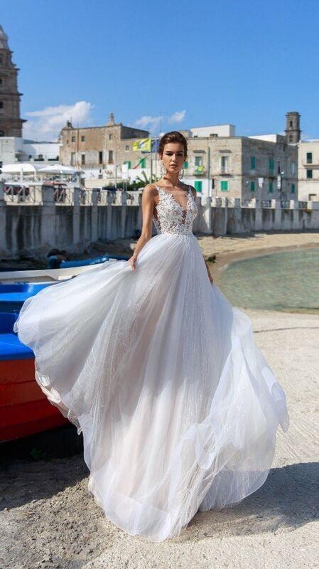 """Свадебное платье напрокат ALIZA Свадебное платье """"Victoria"""" - фото 2"""