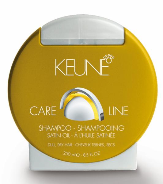 Уход за волосами Keune Haircosmetics Шампунь «Care Line Satin Oil», 250 мл - фото 1