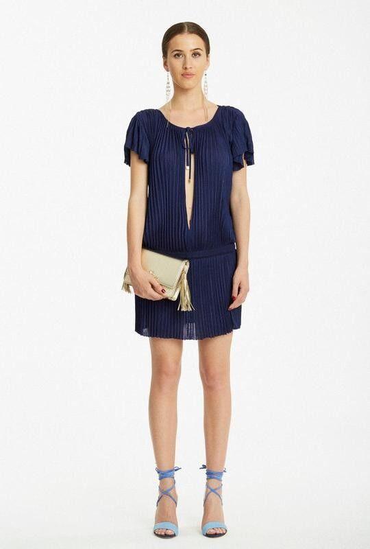 Платье женское Elisabetta Franchi Платье AM0802252 - фото 1