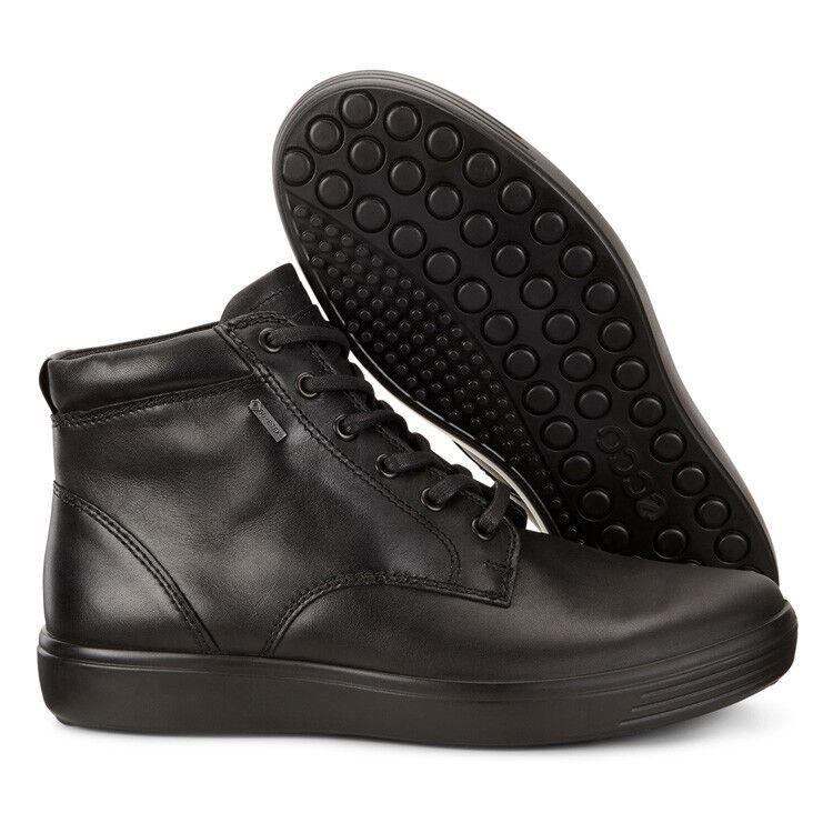 Обувь мужская ECCO Кеды высокие SOFT 7 430374/21001 - фото 8