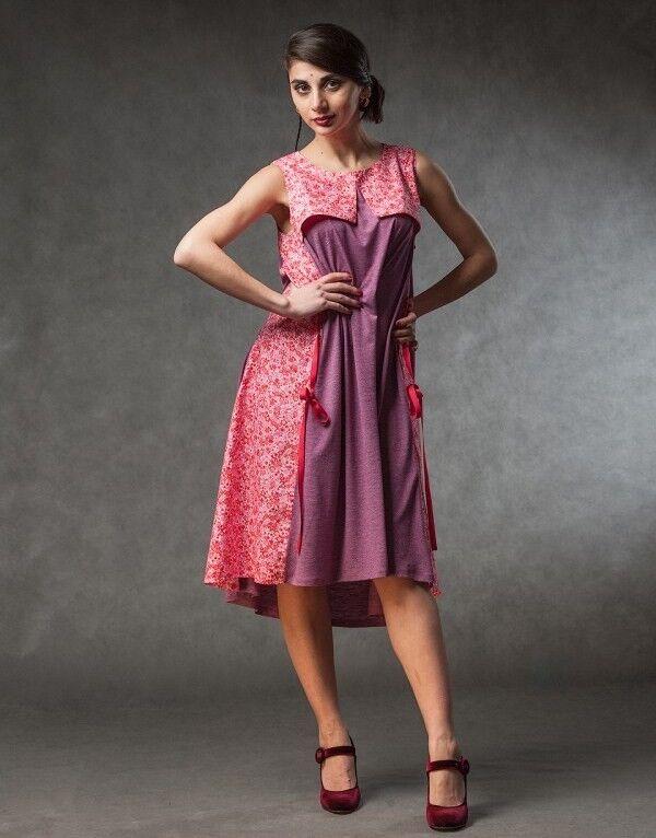 Платье женское MISUTERI Платье Tekina Pink SS0150 - фото 1