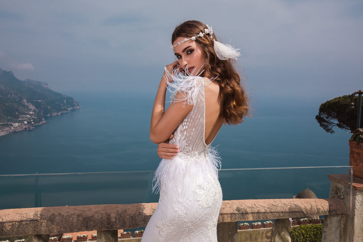 Свадебный салон Bonjour Galerie Платье свадебное ENKARNE из коллекции NEW COLLECTION - фото 2