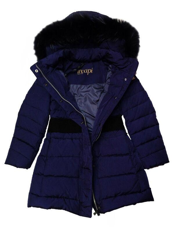 Верхняя одежда детская TRE API Пальто  для девочки Z1186 T P - фото 2