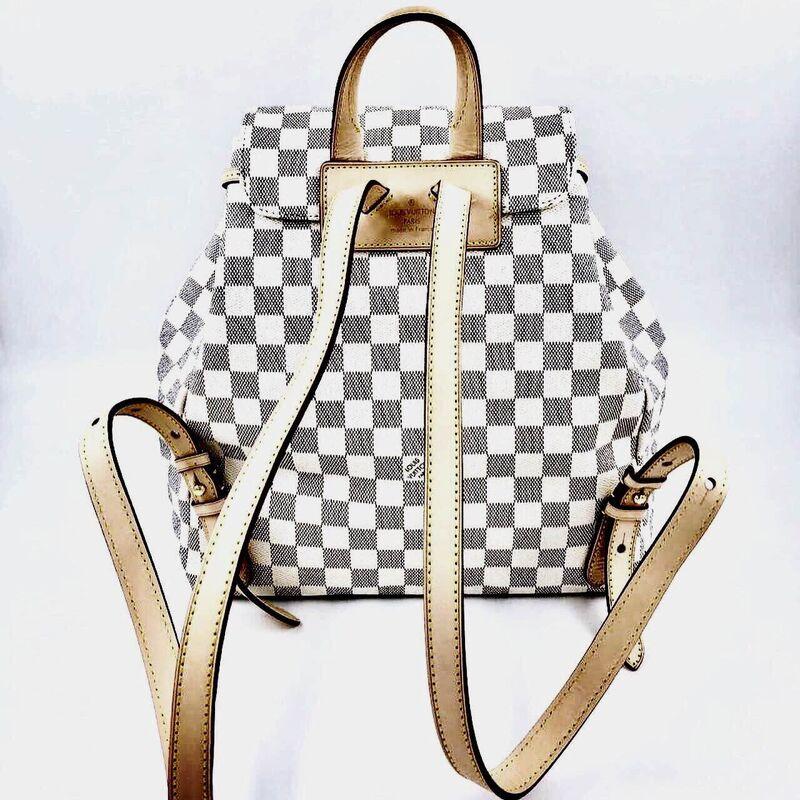 Магазин сумок Louis Vuitton Рюкзак белый - фото 3