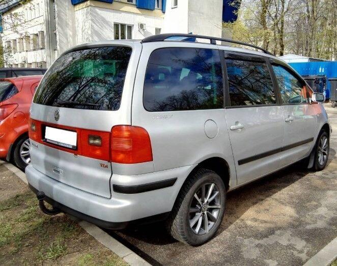 Прокат авто Volkswagen Sharan - фото 2