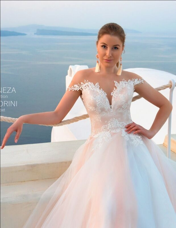 Свадебное платье напрокат Rafineza Свадебное платье Elizabet напрокат - фото 1