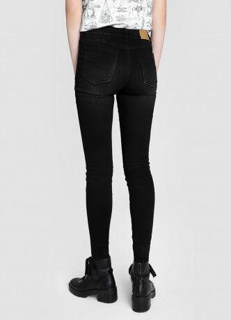 Брюки женские O'STIN Базовые суперузкие джинсы с высокой посадкой LPD107-95 - фото 3