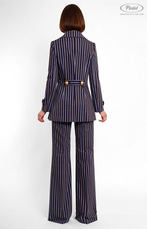 Костюм женский Pintel™ Двубортный брючный костюм Geeah - фото 3