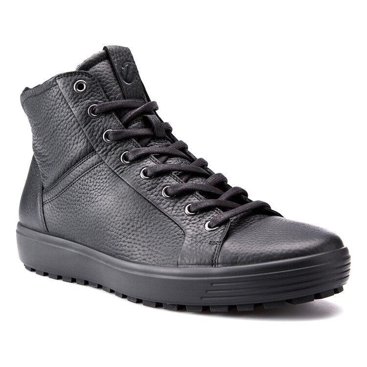 Обувь мужская ECCO Кеды высокие SOFT 7 TRED 450214/01001 - фото 1