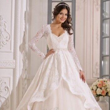 Свадебное платье напрокат Lavender Свадебное платье Millennium - фото 1