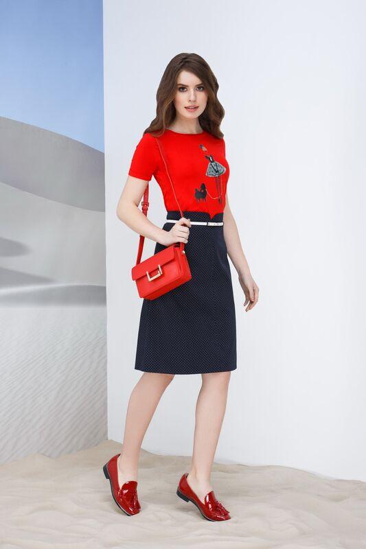 Кофта, блузка, футболка женская Elema Блузка женская Т-73383 - фото 1