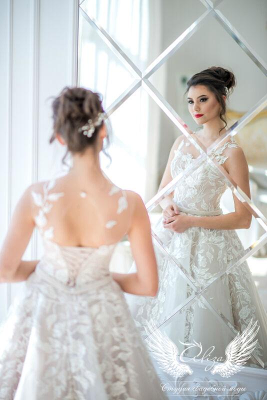 Свадебный салон ALIZA Свадебное платье Melisa - фото 3