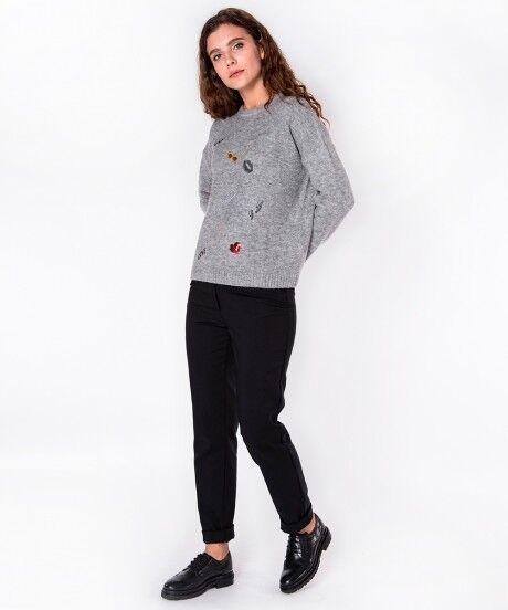 Кофта, блузка, футболка женская SAVAGE Джемпер женский арт. 910722 - фото 1