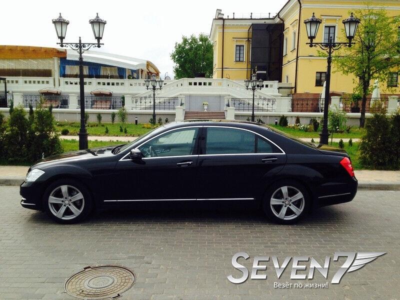 Аренда авто Mercedes-Benz S-class W221 long чёрный - фото 3