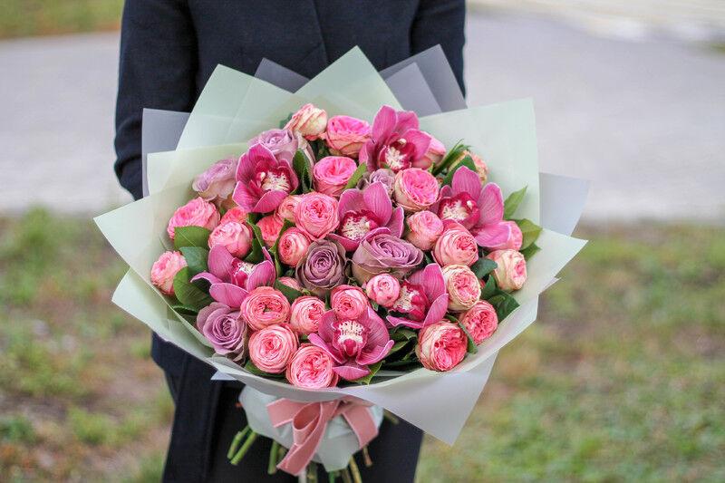 Магазин цветов Cvetok.by Букет «Малиновка» - фото 1