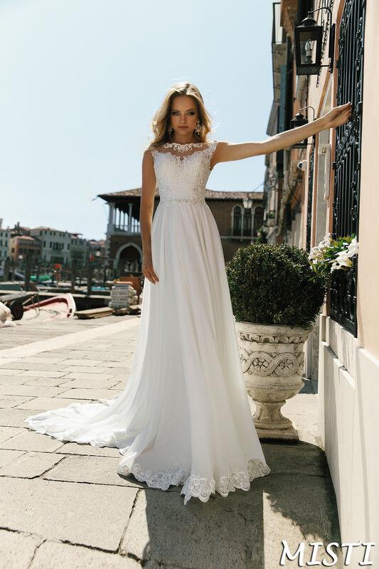 Свадебный салон Bonjour Galerie Свадебное платье Misti из коллекции La Douceur - фото 1